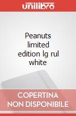 Peanuts limited edition lg rul white articolo per la scrittura