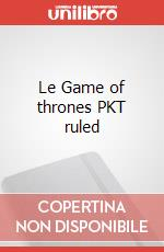 Le Game of thrones PKT ruled articolo per la scrittura