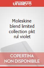 Moleskine blend limited collection pkt rul violet articolo per la scrittura