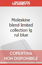 Moleskine blend limited collection lg rul blue articolo per la scrittura