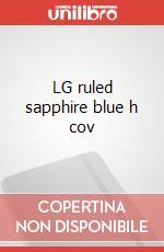 LG ruled sapphire blue h cov articolo per la scrittura