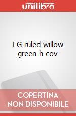 LG ruled willow green h cov articolo per la scrittura