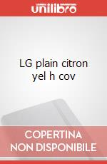 LG plain citron yel h cov articolo per la scrittura