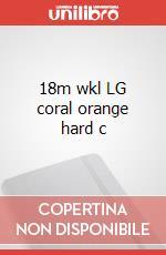 18m wkl LG coral orange hard c articolo per la scrittura