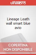 Lineage Leath wall smart blue avio articolo per la scrittura