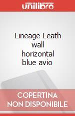 Lineage Leath wall horizontal blue avio articolo per la scrittura