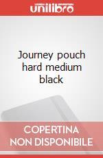 Journey pouch hard medium black articolo per la scrittura