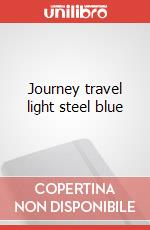 Journey travel light steel blue articolo per la scrittura