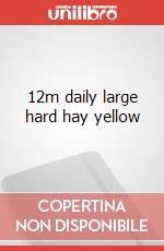 12m daily large hard hay yellow articolo per la scrittura
