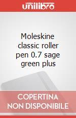 Moleskine classic roller pen 0.7 sage green plus articolo per la scrittura