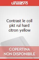 Contrast le coll pkt rul hard citron yellow articolo per la scrittura