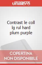 Contrast le coll lg rul hard plum purple articolo per la scrittura