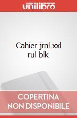 Cahier jrnl xxl rul blk articolo per la scrittura