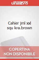 Cahier jrnl xxl squ kra.brown articolo per la scrittura
