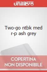 Two-go ntbk med r-p ash grey articolo per la scrittura