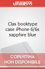 Clas booktype case iPhone 6/6s sapphire blue articolo per la scrittura