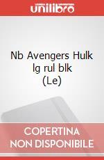 Le Nb Avengers Hulk lg rul blk articolo per la scrittura
