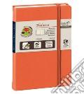 Rubrica telefonica habana 10x15 arancio scrittura