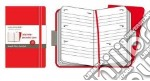 Moleskine Agenda 18 mesi 2009/2010 - POCKET TWIN SET ROSSO articolo per la scrittura