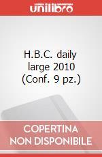 H.B.C. daily large 2010 (Conf. 9 pz.) articolo per la scrittura di Moleskine