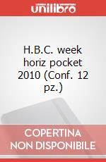 H.B.C. week horiz pocket 2010 (Conf. 12 pz.) articolo per la scrittura di Moleskine