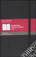 Agenda Moleskine Settimanale Orizzontale LARGE - Copertina Rigida Nera articolo per la scrittura