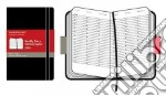Agenda Moleskine Settimanale Verticale POCKET - Copertina Rigida Nera articolo per la scrittura