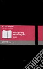 Agenda Moleskine Settimanale Verticale LARGE - Copertina Rigida Nera articolo per la scrittura