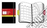 Agenda Moleskine 2010 Mensile POCKET NOTEBOOK - Copertina Morbida Nera articolo per la scrittura