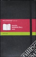 Agenda Moleskine 2010 Mensile LARGE NOTEBOOK - Copertina Morbida Nera articolo per la scrittura