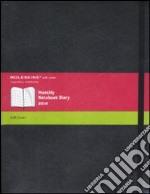 Agenda Moleskine 2010 Mensile EXTRALARGE NOTEBOOK - Copertina Morbida Nera articolo per la scrittura