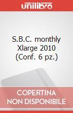 S.B.C. monthly Xlarge 2010 (Conf. 6 pz.) articolo per la scrittura di Moleskine