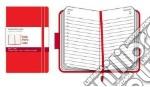 Agenda Moleskine Giornaliera Pocket - Copertina Rigida Rossa articolo per la scrittura