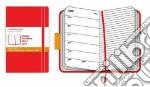 Agenda Moleskine 2010 Settimanale POCKET NOTEBOOK - Copertina Rigida ROSSA articolo per la scrittura