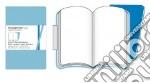 Volant Moleskine - XSmall Pagine Bianche TURCHESE (2 taccuini) articolo per la scrittura