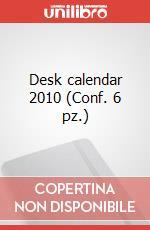 Desk calendar 2010 (Conf. 6 pz.) articolo per la scrittura di Moleskine