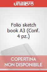 Folio sketch book A3 (Conf. 4 pz.) articolo per la scrittura di Moleskine