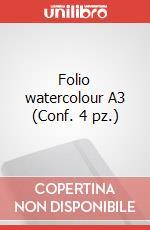 Folio watercolour A3 (Conf. 4 pz.) articolo per la scrittura di Moleskine