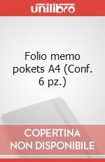 Folio memo pokets A4 (Conf. 6 pz.) articolo per la scrittura di Moleskine