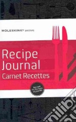 Moleskine PASSION BOOK - RICETTE articolo per la scrittura di Recipe Journal