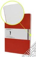 Volant Moleskine - Extra Large Pagine Bianche ROSSO (2 taccuini) art vari a