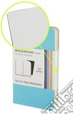 Volant Moleskine - Extra Large Pagine Bianche AZZURRO (2 taccuini) articolo per la scrittura