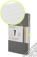 Volant Moleskine - Pocket RIGHE GRIGIO (2 taccuini) art vari a