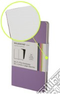 Volant Moleskine - Pocket PAGINE BIANCHE VIOLA (2 taccuini) art vari a