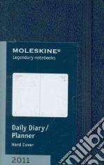 Agenda Moleskine 2011 - GIORNALIERA EXTRA SMALL Copertina Rigida Blu articolo per la scrittura