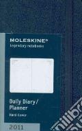 Agenda Moleskine 2011 - GIORNALIERA EXTRA SMALL Copertina Rigida Blu art vari a