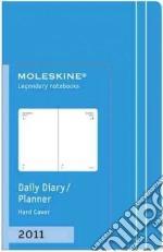 Agenda Moleskine 2011 - GIORNALIERA EXTRA SMALL Copertina Rigida Turchese articolo per la scrittura