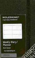 Agenda Moleskine 2011 - SETTIMANALE EXTRA SMALL Copertina Rigida Nera art vari a