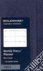 Agenda Moleskine 2011 - SETTIMANALE EXTRA SMALL Copertina Rigida Blu articolo per la scrittura