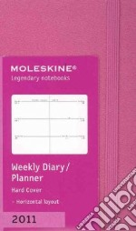 Agenda Moleskine 2011 - SETTIMANALE EXTRA SMALL Copertina Rigida Rosa Scuro articolo per la scrittura